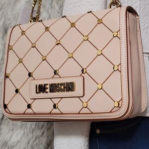 NWT LOVE MOSCHINO Shoulder -Crossbody Designer Bag
